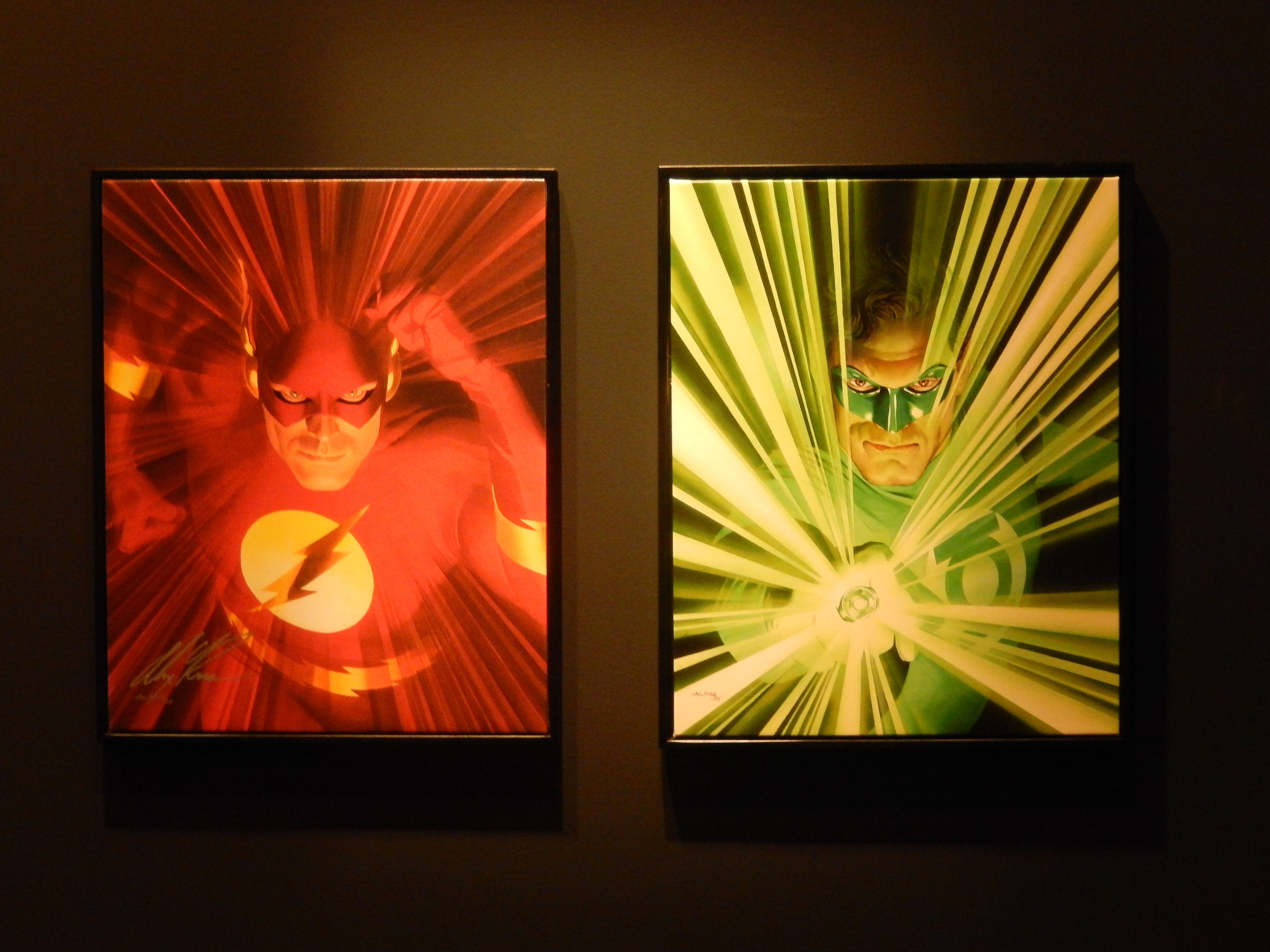 Super-Héros, l'art d'Alex Ross, Mona Bismarck American Center